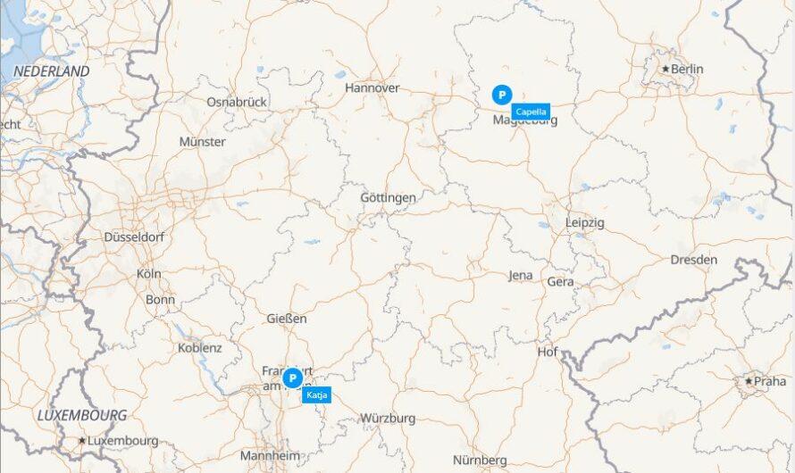 Mapa našich mobilních kamer